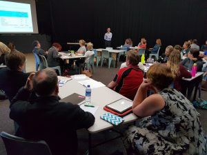 Professor Mark Hackling running one of the recent Geraldton workshops